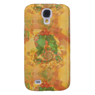 Merry Christmas Bow Galaxy S4 Case