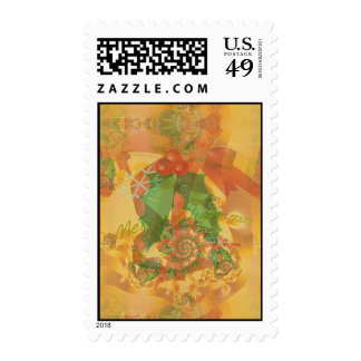 Merry Christmas Bow Stamps