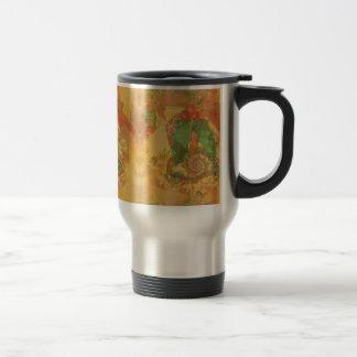 Merry Christmas Bow Travel Mug