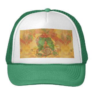 Merry Christmas Bow Trucker Hat