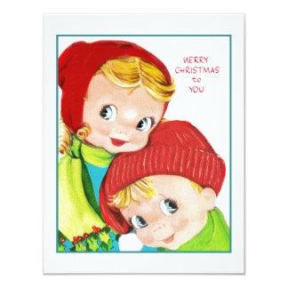 Merry Christmas Boy and Girl Card