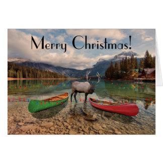 Merry Christmas - British Columbia greetings Card