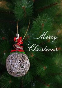 Merry xmas business cards zazzle merry christmas business card colourmoves