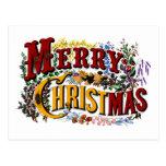 Merry Christmas Business Postcard
