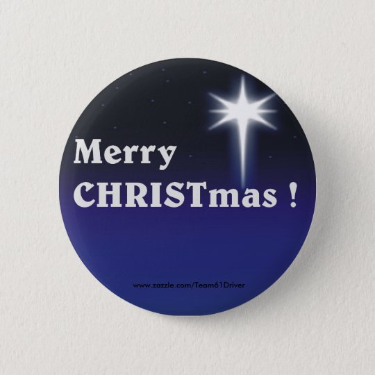 Merry CHRISTmas ! Button