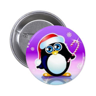Merry Christmas - Pinback Button