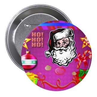 Merry Christmas_ Button_by Elenne Pins