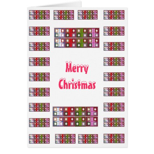 Merry Christmas  - Buy Blank or Add Greeting Cards