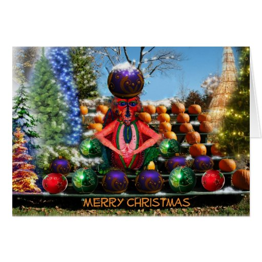 Merry Christmas by Mintaka Greeting Card
