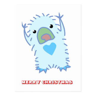 Merry Christmas,  by Nekoni,  Friendly ghost Postcard
