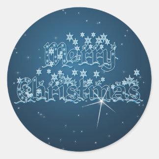 MERRY CHRISTMAS  by SHARON SHARPE Sticker