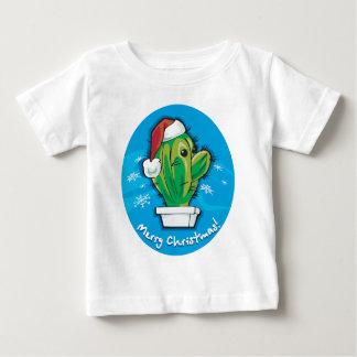 Merry Christmas Cactus Baby T-Shirt