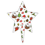 Merry Christmas Cake Toppers