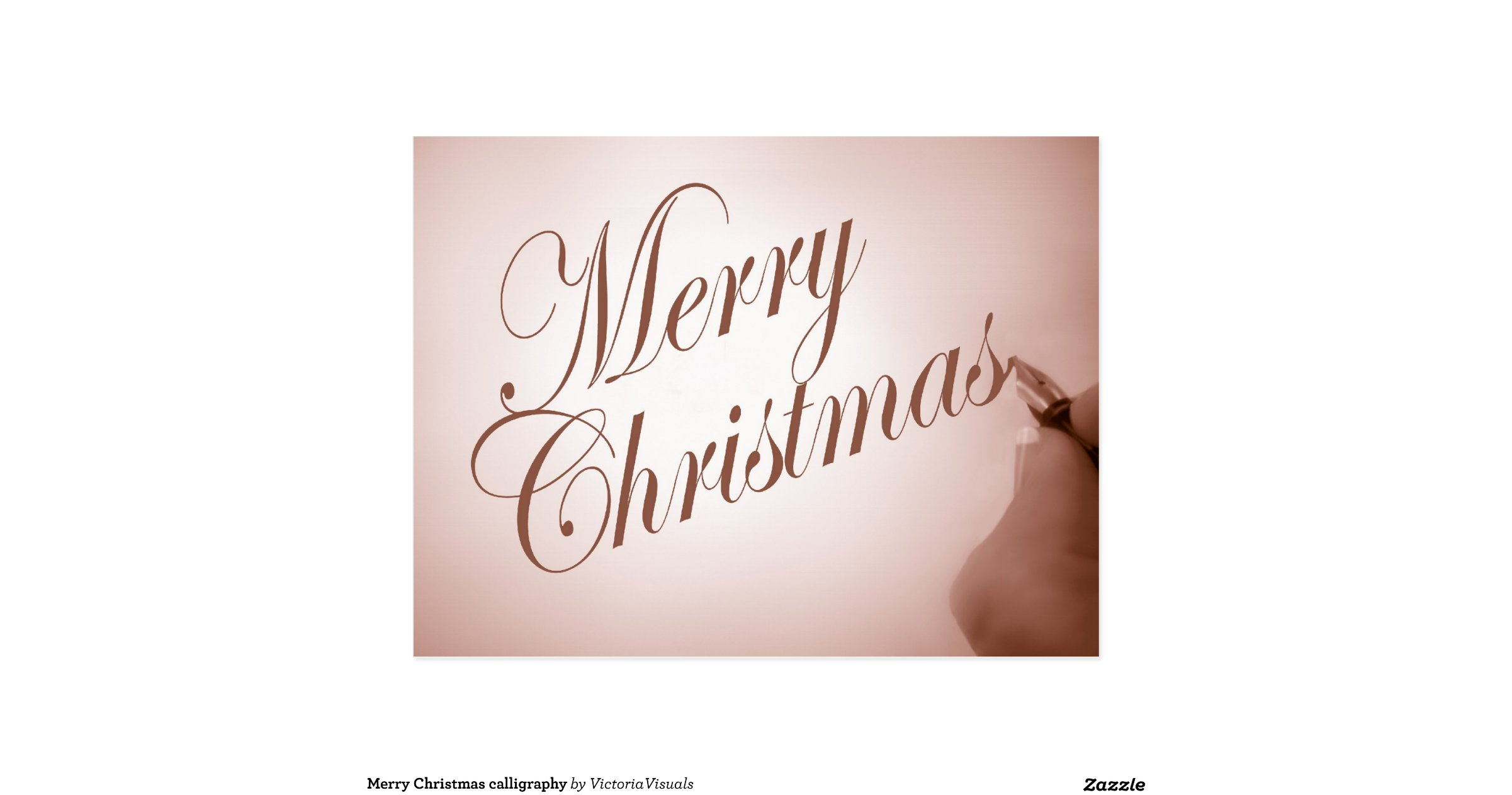 Merry Christmas Modern Calligraphy Images