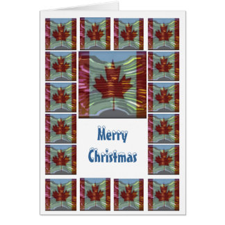 Merry Christmas Canada - Buy Blank or Add Greeting Card
