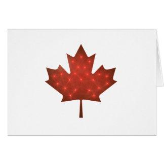 Merry Christmas, Canada Card