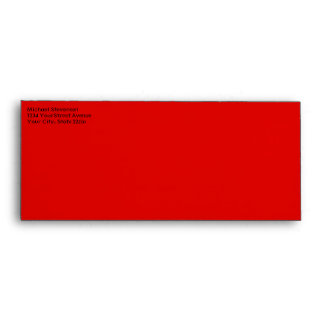 Merry Christmas Candy Cane Envelope