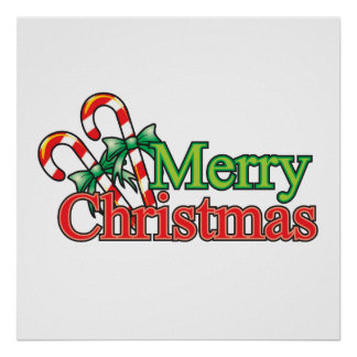 Merry Christmas Candy Cane Wrapper Magnet Buttons Print