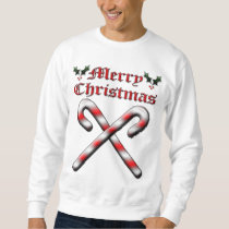 Merry Christmas - Candy Canes Sweatshirt