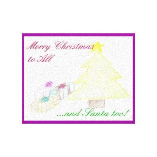 Merry Christmas Canvas Prints