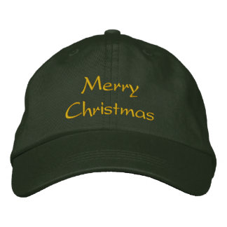 Merry Christmas Cap / Hat Embroidered Baseball Cap