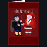 """Merry Christmas Card<br><div class=""""desc"""">Design that I did for Christmas that this the Olentzero that in the Basque Country is similar to Noel Pope here that brings gifts to all the together children and Pope Noel</div>"""
