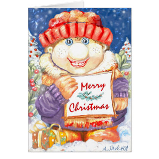 **Merry Christmas ** Greeting Card