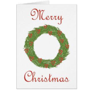 Merry Christmas card - blank