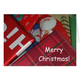 Merry Christmas Card by Janz