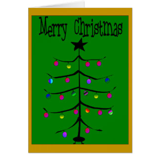 Merry Christmas Card--Funny/Mean
