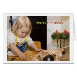 Merry Christmas Card Grußkarten
