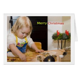 Merry Christmas Card Tarjeta De Felicitación