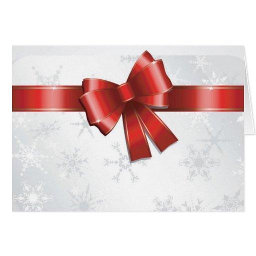 Merry Christmas Cartão