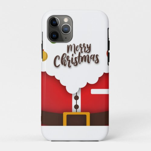 Merry Christmas iPhone 11 Pro Case