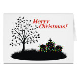Merry Christmas!  - Cemetery Lights Cards