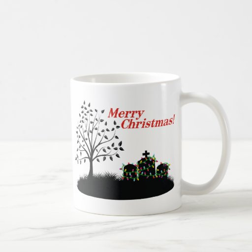 Merry Christmas! - Cemetery Mug