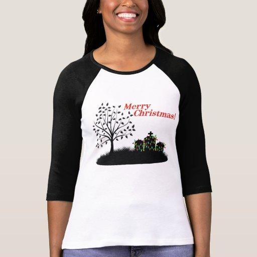 Merry Christmas! - Cemetery T Shirt