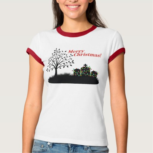Merry Christmas! - Cemetery T Shirts
