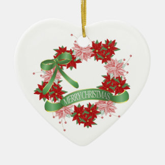 Merry Christmas Ceramic Ornament