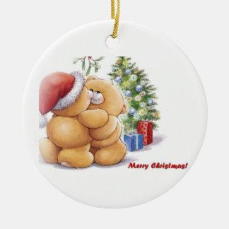 Merry Christmas! Ceramic Ornament