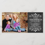 "Merry Christmas Chalkboard Holiday Photo Card<br><div class=""desc"">Check out similar items in our shop!</div>"