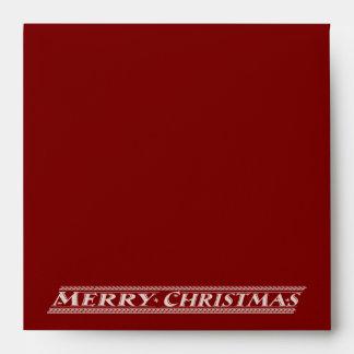 MERRY CHRISTMAS CHALKBOARD - RED ENVELOPE