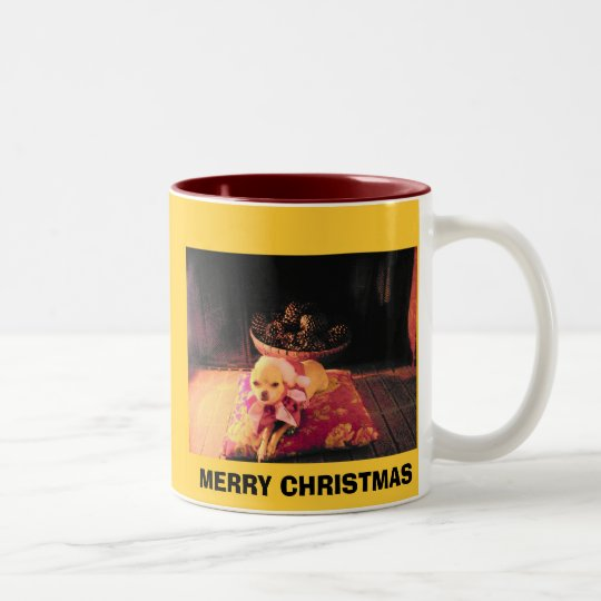 MERRY CHRISTMAS - CHICHI PUCHI MUG