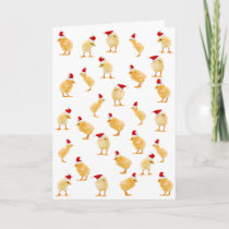 Merry Christmas Chicks card