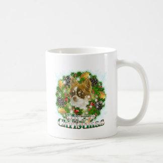 Merry Christmas Chihuahua Coffee Mug
