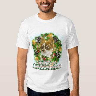 Merry Christmas Chihuahua Tee Shirt
