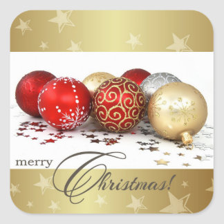 Merry Christmas.Christmas Gift Stickers