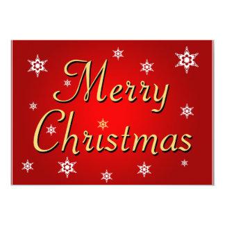 """Merry Christmas"" Christmas Party Invitation"