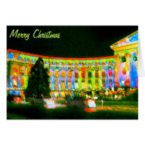 Merry Christmas, City & County Bldg, Denver CO Card