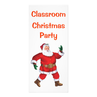 Merry Christmas! - Class Christmas Party Note Rack Card